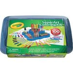 Crayola Super Art Coloring Kit - Blue