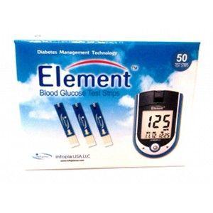 Element Element Blood Glucose Test Strips