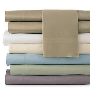 Cindy Crawford Style 400TC Cotton Sheet Sets