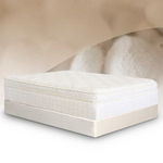 BedInABox.com Natural Silk Elegance Comfort Adjust Memory Foam Mattress