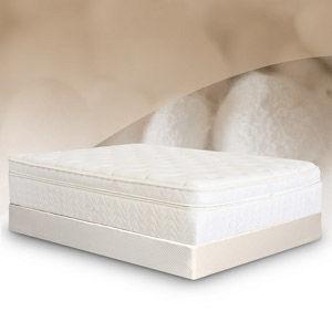 BedInABox.com Natural Silk Elegance Comfort Adjust Memory Foam Mattress