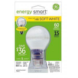 GE Energy Smart Bright from the Start Light Bulb