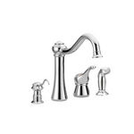 Moen Corrine Colection Single Handle High Arc Kitchen Faucet 87770SL