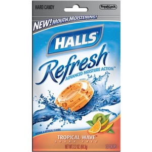 Halls Refresh Cough Drops