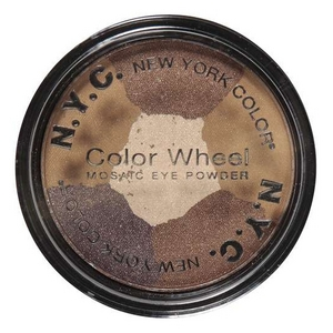 NYC / New York Color Color Wheel Mosaic Eye Powder