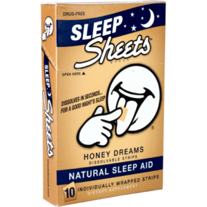 Sheets Brand Honey Dreams Natural Sleep Aid