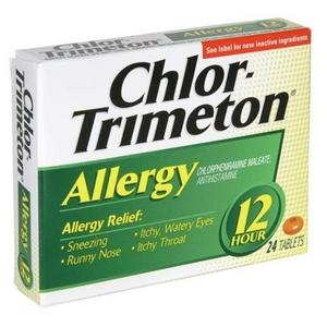Chlor-Trimeton Allergy 12 Hour Tablets