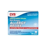 CVS Allergy Relief Non-Drowsy 24 Hour Tablets