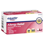 Equate Allergy Relief Capsules
