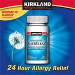 Kirkland Signature AllerClear Loratadine Tablets