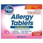 Kroger Allergy Tablets