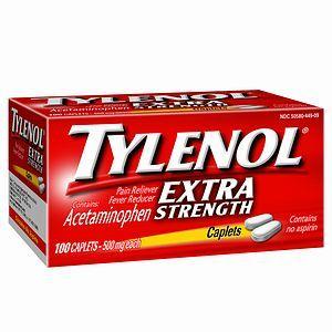 Tylenol Extra Strength Pain Reliever/Fever Reducer