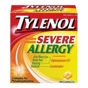 Tylenol Severe Allergy