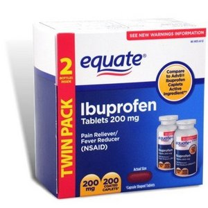 Equate Ibuprofen Pain Reliever/Fever Reducer