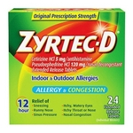 Zyrtec-D Allergy Tablets