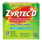 Zyrtec-D Allergy Tablets
