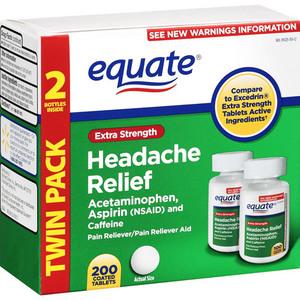 Equate Extra Strength Headache Relief