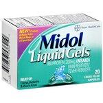 Midol Ibuprofen Liquid Gels