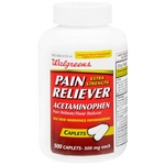 Walgreens Extra Strength Acetaminophen Pain Reliever