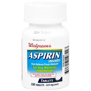 Walgreens Aspirin