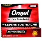 Orajel Severe Toothache Instant Pain Relief