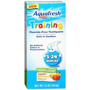 Aquafresh Training Toothpaste