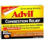 Advil Congestion Relief
