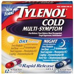 Tylenol Cold Multi-Symptom Day & Night Rapid Release Gels