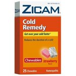 Zicam Cold Remedy Chewables