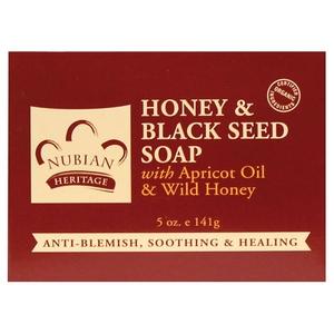 Nubian Heritage Honey & Black Seed Bar Soap