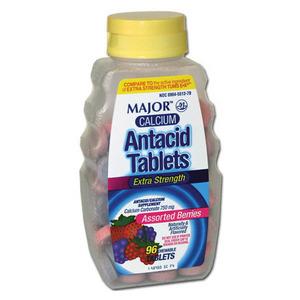 Major Calcium Antacid Tablets Extra Strength