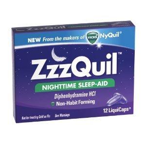 Vicks ZzzQuil Nighttime Sleep-Aid LiquiCaps