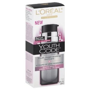 L'Oreal Paris Youth Code Regenerating Skincare Serum Intense Daily Treatment
