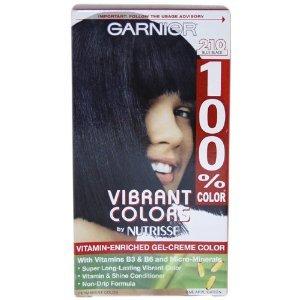 Garnier Vibrant Colors 100% Permanent Blue Black