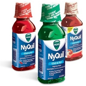 Vicks NyQuil Cold & Flu Relief Liquid Medicine