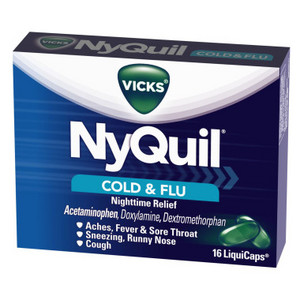 Vicks NyQuil Cold & Flu Relief LiquiCaps