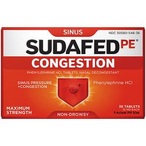 Sudafed PE Congestion