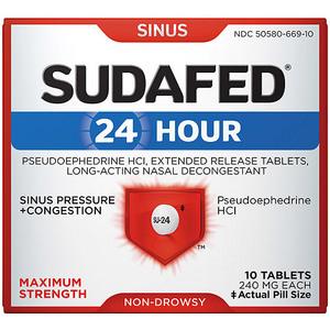 Sudafed 24 Hour