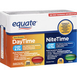 Equate Non-Drowsy Daytime/Nitetime Cold & Flu Multi-Symptom Relief