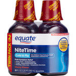 Equate Nite Time Cherry Flavor Multi-Symptom Cold/Flu Relief