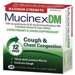 Mucinex DM Maximum Strength Expectorant & Cough Suppressant