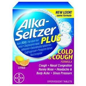 Alka-Seltzer Plus Cold & Cough