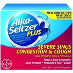 Alka-Seltzer Plus Severe Sinus Congestion & Cough