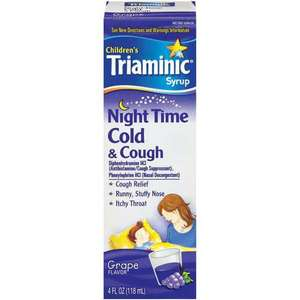 Triaminic Night Time Cold & Cough