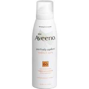 Aveeno Positively Ageless Sunblock Spray SPF 50