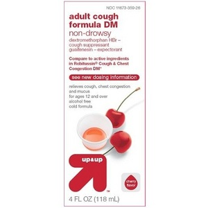 up & up Non-Drowsy Adult Cough Formula DM