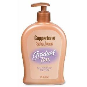 Coppertone Gradual Tan Sunless Tanning Moisturizing Lotion