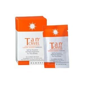TanTowel Classic Self-Tan Towelette For Face & Body