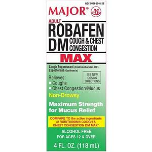 Major Adult Robafen DM Max Cough & Chest Congestion