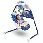 Fisher-Price Ocean Wonders Aquarium Cradle Swing #